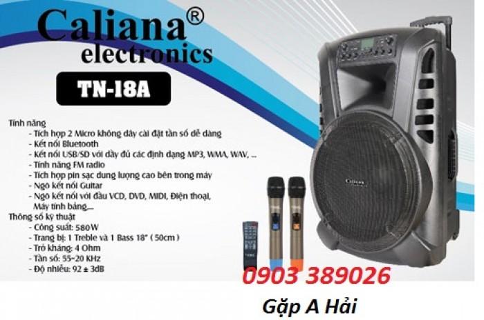 Loa kéo Caliana TN-18A, bass 50, công suất 480W