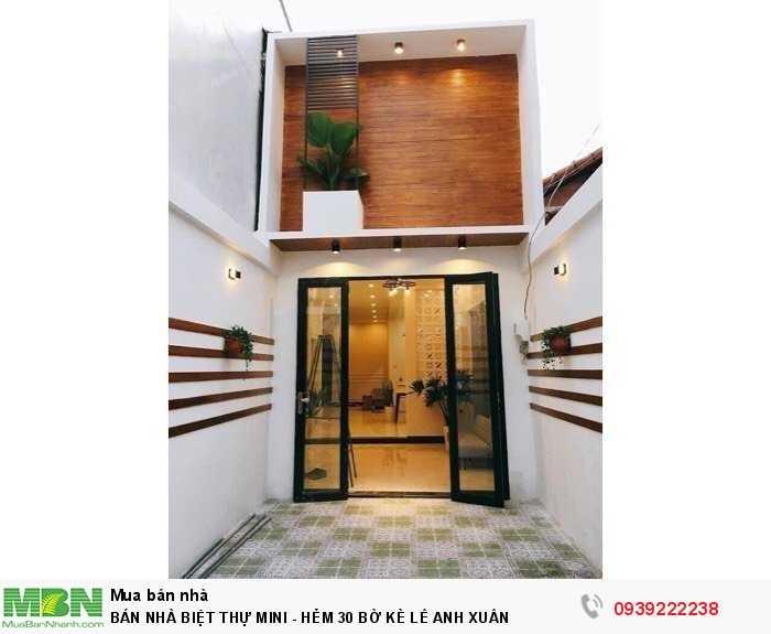 Bán Nhà Biệt Thự Mini  - Hẻm 30 Bờ Kè Lê Anh Xuân