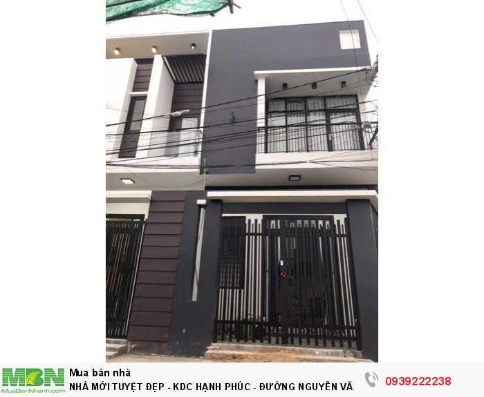 Nhà Mới Tuyệt Đẹp - Kdc Hạnh Phúc - Đường Nguyễn Văn Linh
