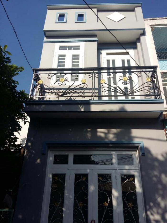 Bán nhà 24/5 đường số 16 quận Bình Tân