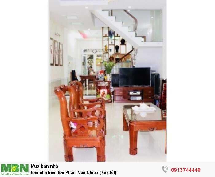 Nhà 3 tầng Phạm Văn Chiêu,Gò Vấp,Bán nhanh 7,2 tỷ
