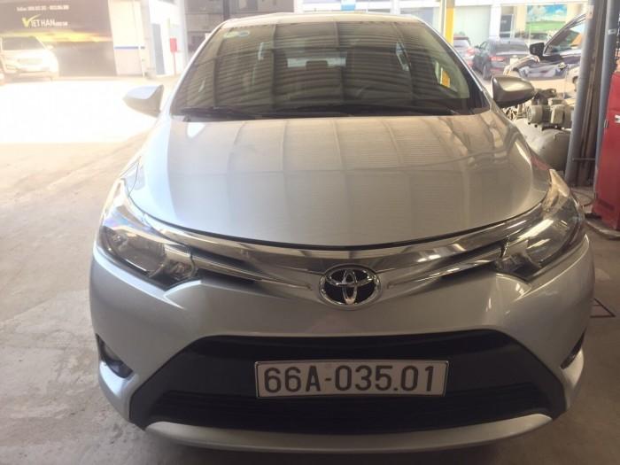 Cần bán xe Toyota Vios  1.5E 2016 , có hỗ trợ trả góp, fix giá mạnh cho AE thiện chí 6