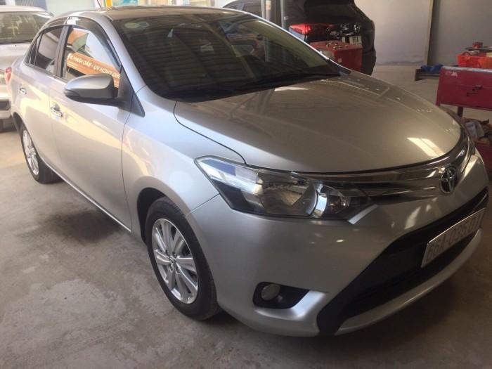 Cần bán xe Toyota Vios  1.5E 2016 , có hỗ trợ trả góp, fix giá mạnh cho AE thiện chí 3
