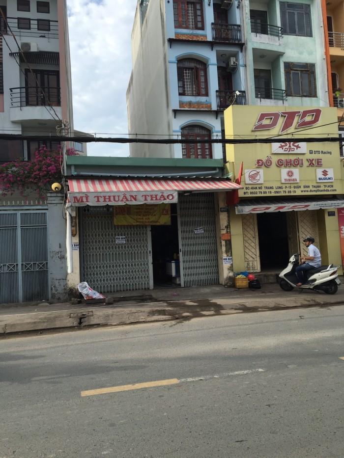 Nhà MT Nơ Trang Long. 5x24.