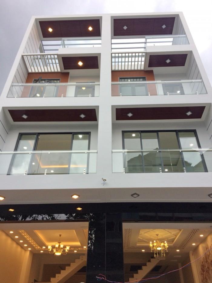 Bán nhà mới 2L hẻm xe hơi 48 Gò Ô Môi gần chợ Phú Thuận, Quận 7 GÍA TỐT