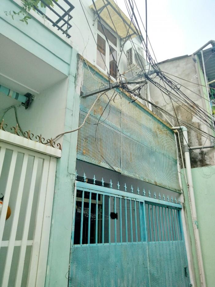 Bán nhà sổ hồng riêng 1 lầu, 2PN giá tốt trước TẾT hẻm 380 Lê Văn Lương Quận 7