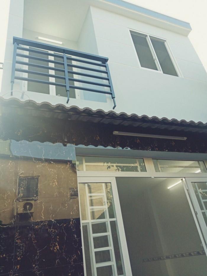 Nhà mới ở liền hẻm 70 đường số 17 Phường Tân Thuận Tây Quận 7