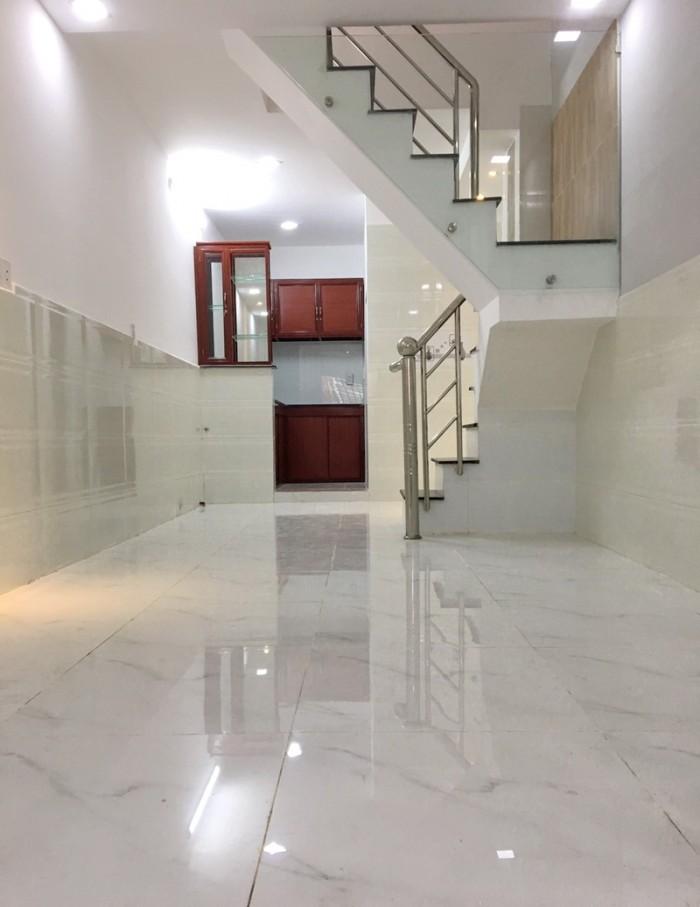 Bán nhà 1 lầu mới hẻm 101 đường số 53 P. Tân Quy Quận 7.
