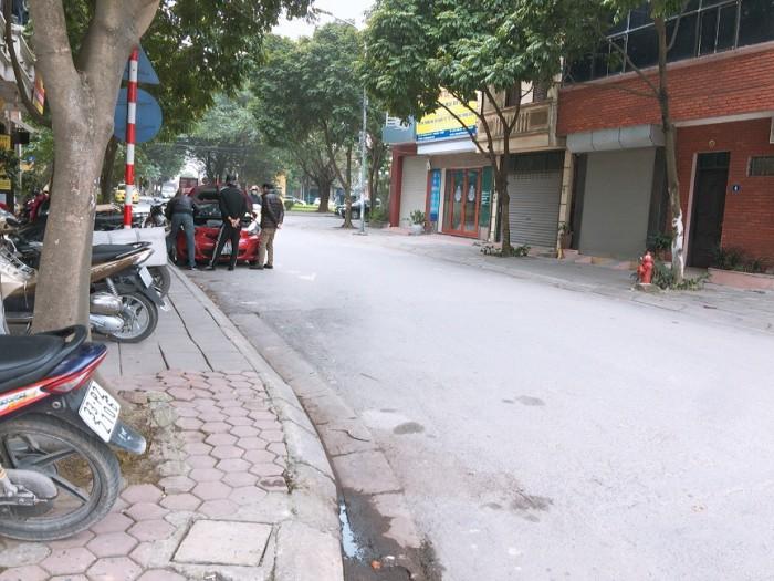 Nhà phố kinh doanh 75m² TĐC Long Biên, ô tô tránh nhau, vỉa hè