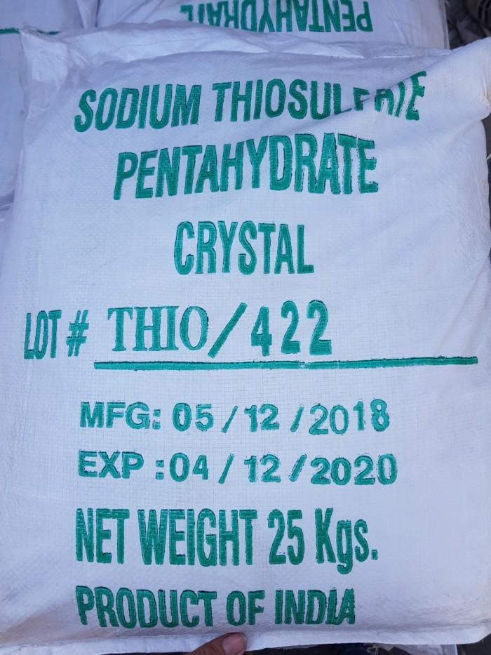 Sodium thiosulphate khử chlorin, khử phèn1
