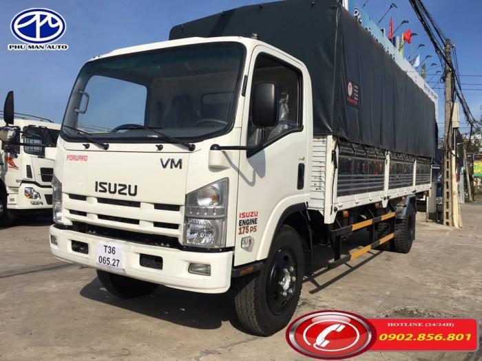 Xe tải isuzu/ isuzu 9 tấn, thùng hàng dài 7 mét. 6