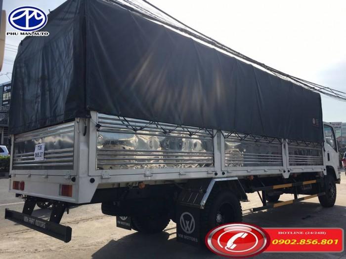Xe tải isuzu/ isuzu 9 tấn, thùng hàng dài 7 mét. 2