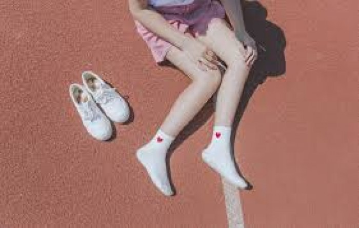 Combo 5 đôi tất nữ cổ ngắn hình tim phong cách Hàn Quốc6