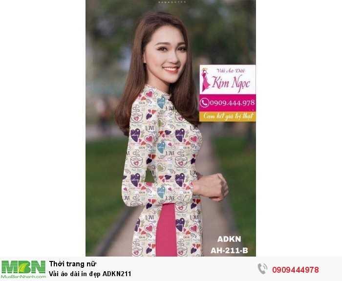 Vải áo dài in đẹp ADKN2110