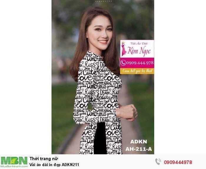 Vải áo dài in đẹp ADKN2111