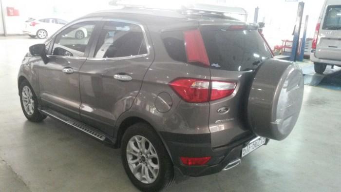 Bán Ford Ecosport sx 2k15 Titanium màu xám