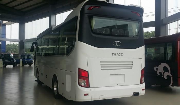 Giá xe thaco  29 Chỗ,  xe tb85s, Bầu Hơi, Êm Dịu 2