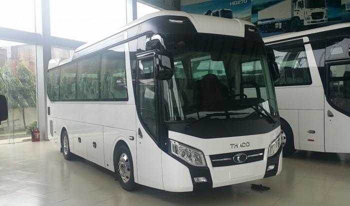 Giá xe thaco  29 Chỗ,  xe tb85s, Bầu Hơi, Êm Dịu 3