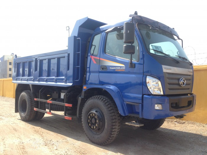 Xe tải ben Thaco 9,5 tấn (7,5 khối)