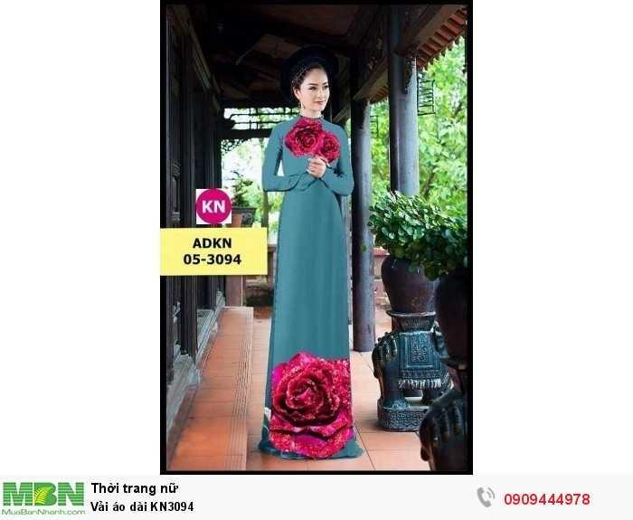 Vải áo dài KN30940