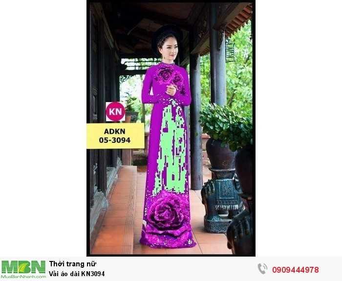 Vải áo dài KN30941