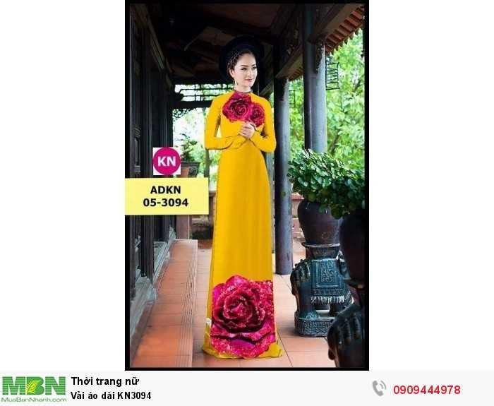 Vải áo dài KN30942