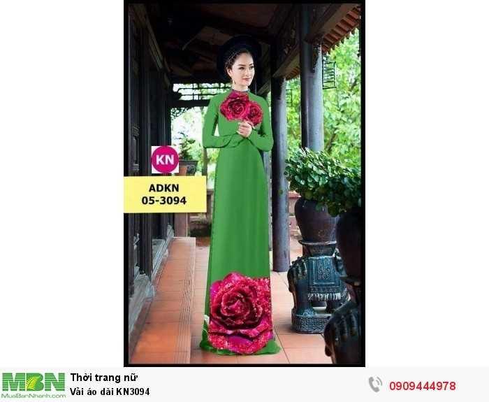 Vải áo dài KN30943