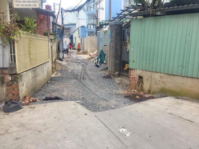 Bán lô đất 104m2 hẻm 88 Nguyễn Văn Quỳ Phường Phú Thuận Quận 7