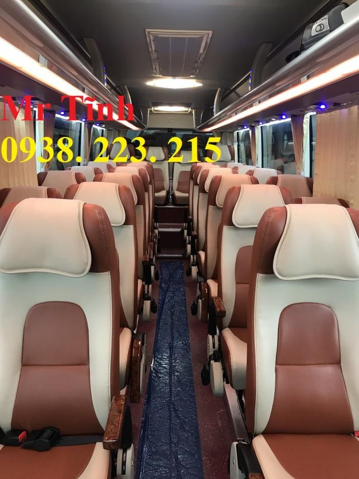 Bán xe tb79s thaco garden trường hải 29 chỗ bầu hơi 2019 mới nhất sài gòn 13