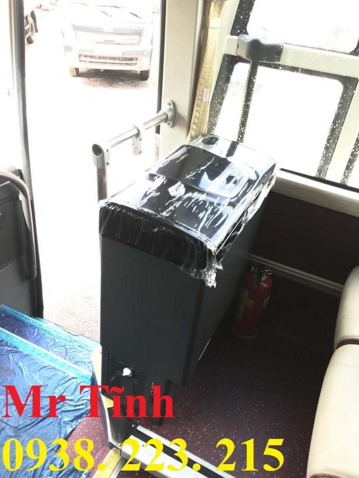 Bán xe tb79s thaco garden trường hải 29 chỗ bầu hơi 2019 mới nhất sài gòn 0
