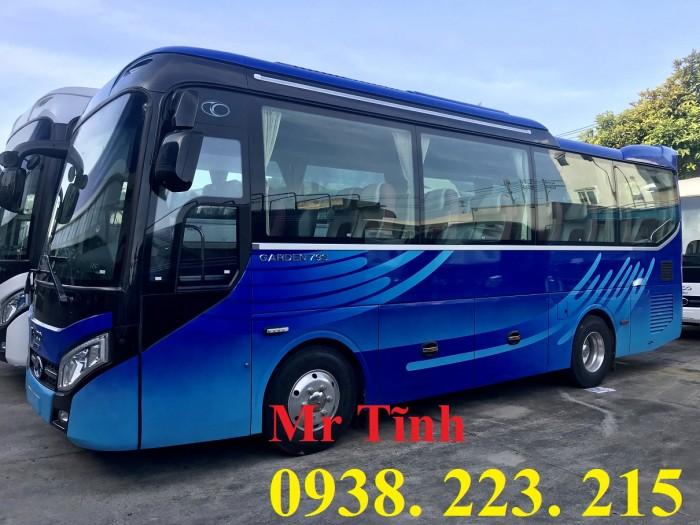 Thông số-Nội Thất-Xe Thaco Tb79S Trường Hải 29 chỗ Bầu Hơi 2019 Mới Nhất 22