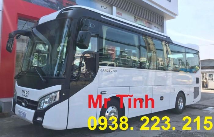 Thông số-Nội Thất-Xe Thaco Tb79S Trường Hải 29 chỗ Bầu Hơi 2019 Mới Nhất 21
