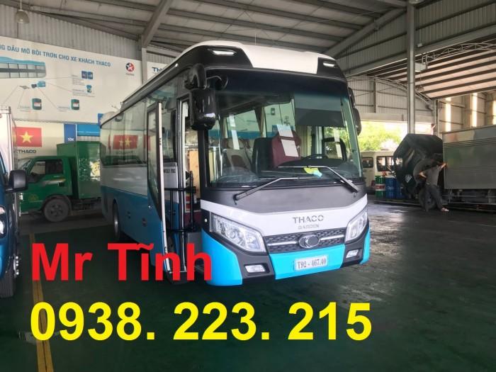 Thông số-Nội Thất-Xe Thaco Tb79S Trường Hải 29 chỗ Bầu Hơi 2019 Mới Nhất 20
