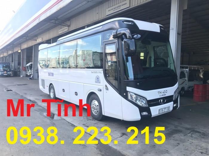 Thông số-Nội Thất-Xe Thaco Tb79S Trường Hải 29 chỗ Bầu Hơi 2019 Mới Nhất 19