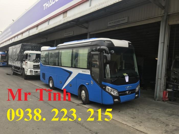 Thông số-Nội Thất-Xe Thaco Tb79S Trường Hải 29 chỗ Bầu Hơi 2019 Mới Nhất 16