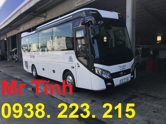 Thông số-Nội Thất-Xe Thaco Tb79S Trường Hải 29 chỗ Bầu Hơi 2019 Mới Nhất 17