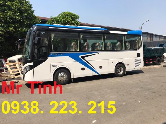 Thông số-Nội Thất-Xe Thaco Tb79S Trường Hải 29 chỗ Bầu Hơi 2019 Mới Nhất 13