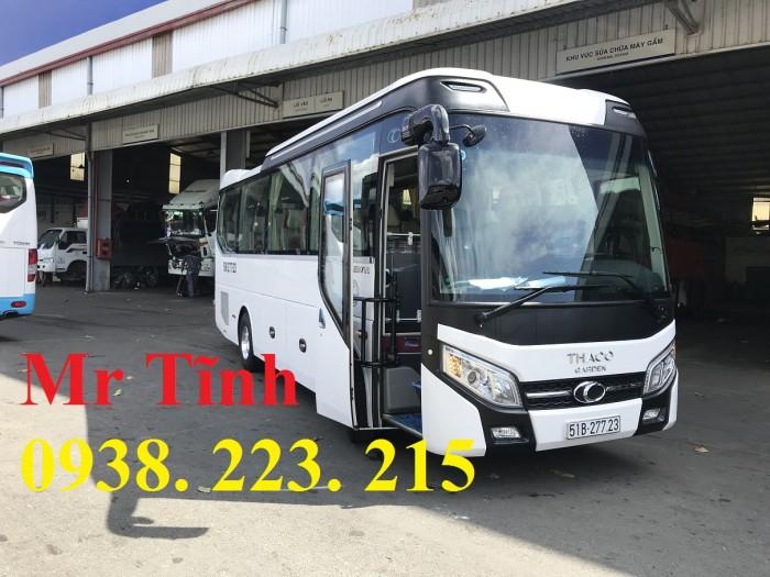 Thông số-Nội Thất-Xe Thaco Tb79S Trường Hải 29 chỗ Bầu Hơi 2019 Mới Nhất 15