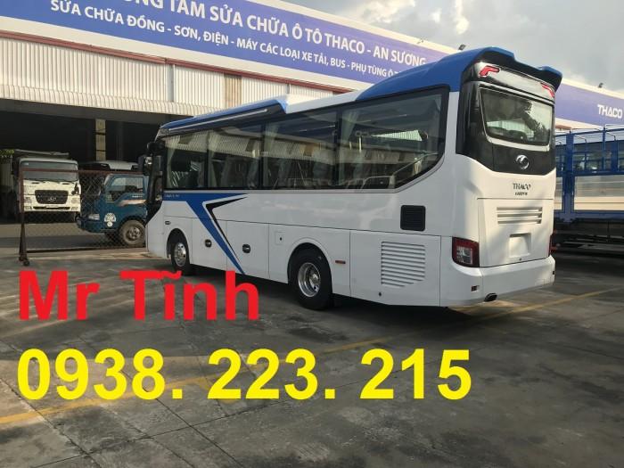 Thông số-Nội Thất-Xe Thaco Tb79S Trường Hải 29 chỗ Bầu Hơi 2019 Mới Nhất 14