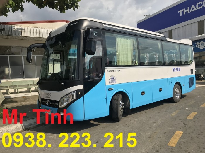 Thông số-Nội Thất-Xe Thaco Tb79S Trường Hải 29 chỗ Bầu Hơi 2019 Mới Nhất 12