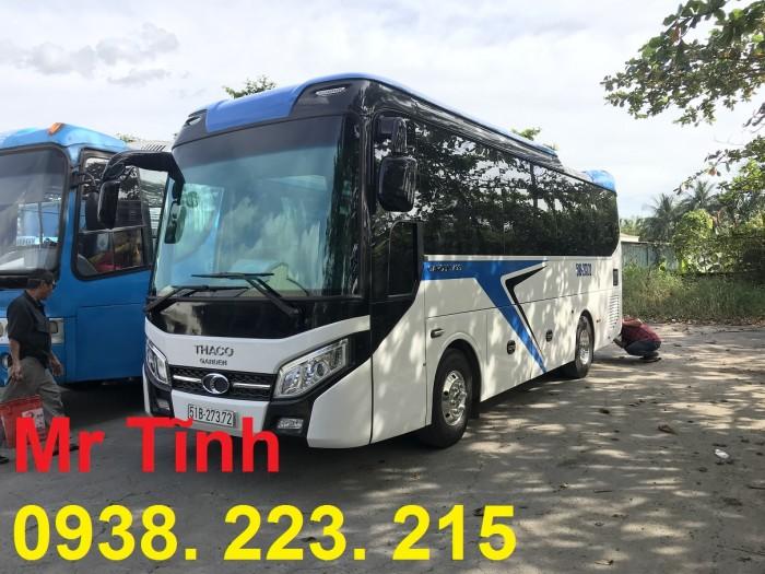 Thông số-Nội Thất-Xe Thaco Tb79S Trường Hải 29 chỗ Bầu Hơi 2019 Mới Nhất 11