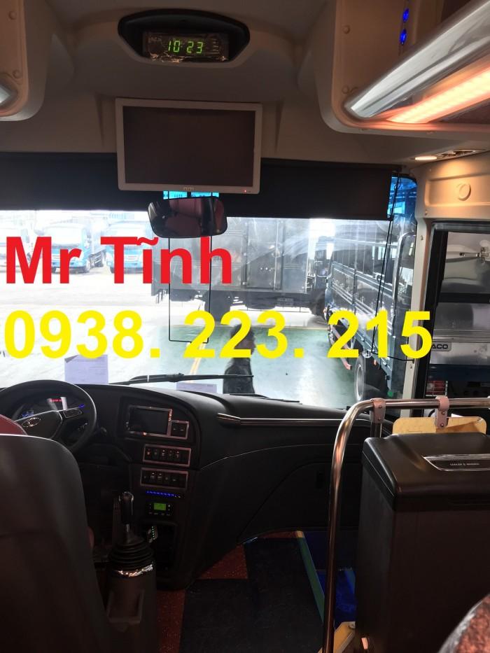 Thông số-Nội Thất-Xe Thaco Tb79S Trường Hải 29 chỗ Bầu Hơi 2019 Mới Nhất 10