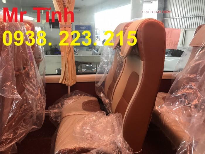 Thông số-Nội Thất-Xe Thaco Tb79S Trường Hải 29 chỗ Bầu Hơi 2019 Mới Nhất 9