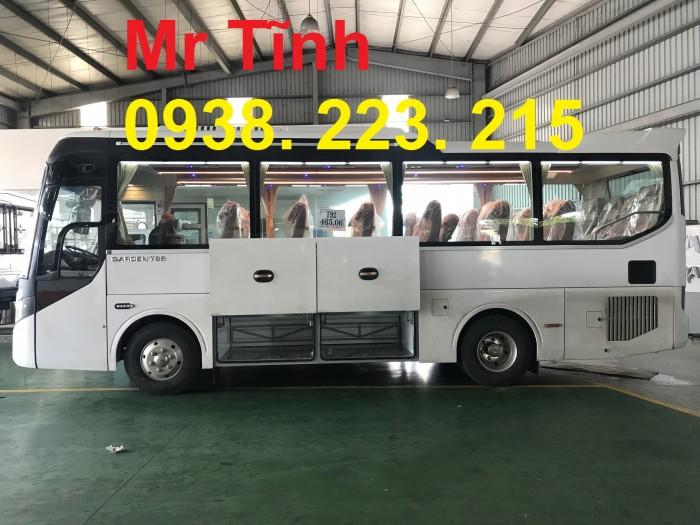 Thông số-Nội Thất-Xe Thaco Tb79S Trường Hải 29 chỗ Bầu Hơi 2019 Mới Nhất 8