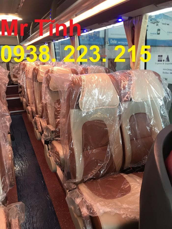 Thông số-Nội Thất-Xe Thaco Tb79S Trường Hải 29 chỗ Bầu Hơi 2019 Mới Nhất 6