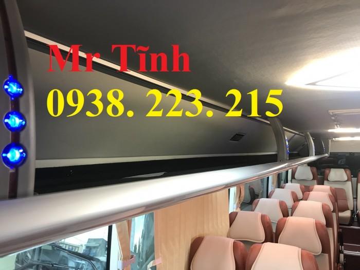 Thông số-Nội Thất-Xe Thaco Tb79S Trường Hải 29 chỗ Bầu Hơi 2019 Mới Nhất 5