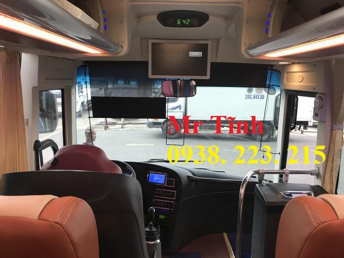 Thông số-Nội Thất-Xe Thaco Tb79S Trường Hải 29 chỗ Bầu Hơi 2019 Mới Nhất 2