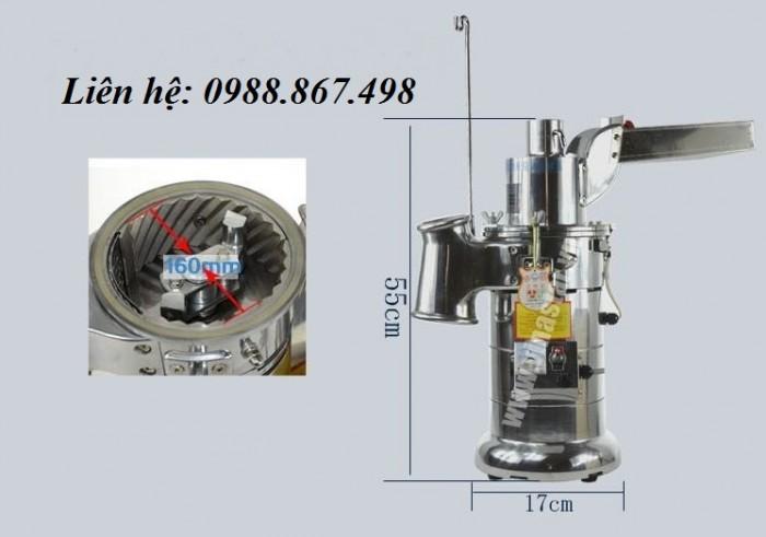 Máy nghiền dược liệu DF-204
