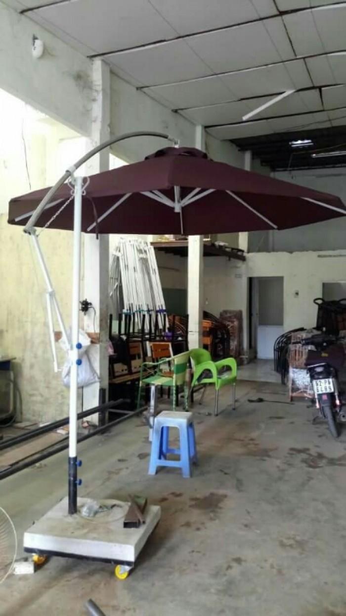 Ô dù cafe  giá rẻ tại xưởng sản xuất HGH 5510