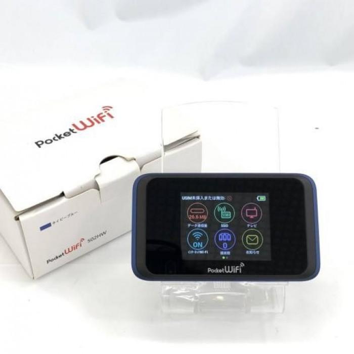 Phát Wifi 4G Huawei 502hw Màn Hình Cảm Ứng LCD, PIn 3000 MAh hàng Nhật4